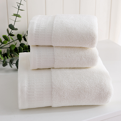 Wholesale china absorbent soft 100% cotton jacquard solid color hotel towel