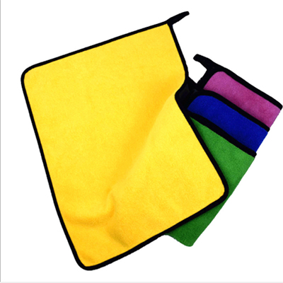Quickly Dry High Absorption Microfiber Car Cleaning Square Towel