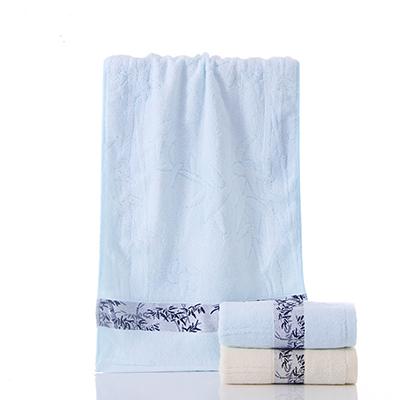 Best Selling Cooling Soft Bamboo Fiber Jacquard Anti Bacteria Towel