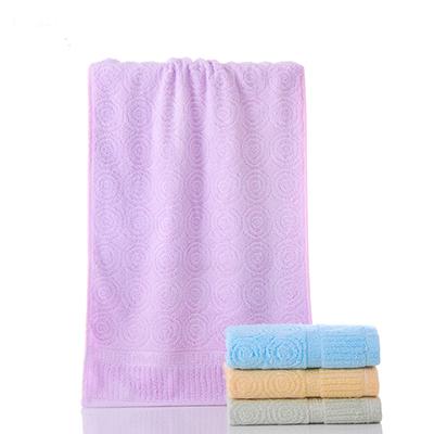 Solid Color Bamboo Fiber Cooling Anti Bacteria Custom Towel