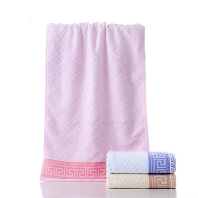 Cooling Super Soft Anti-bacteria Bamboo Fiber Towel Custom Logo Wholesale