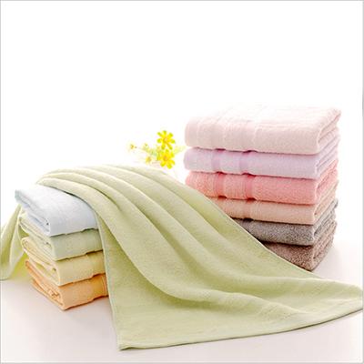 Bamboo Fiber Cooling Summer Anti Bacteria Custom Jacquard Towel