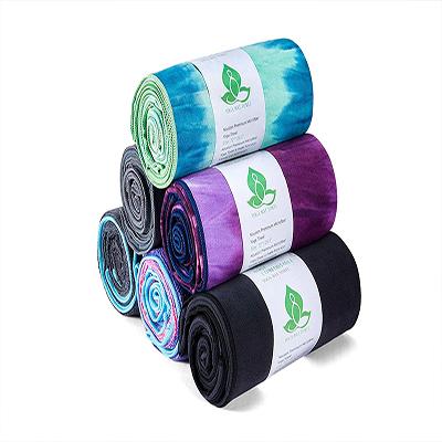 Colorful Printing Microfiber Yoga Sports Towel Series