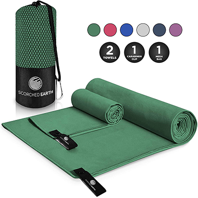 Microfiber Polyester Sport Yoga Towel Strong Absorption