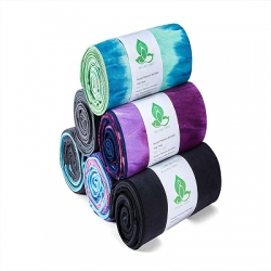 Colorful Printing Microfiber Yoga Sports Towel Series