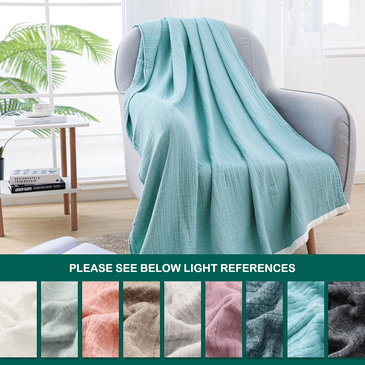 New fashion and new design high quality 100% cotton bedspread