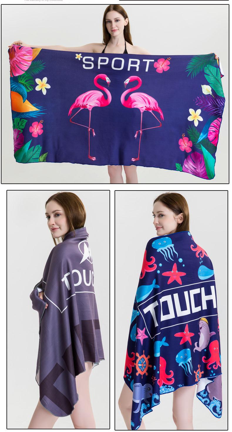 high quality microfiber Beach Towel sexy beach towel
